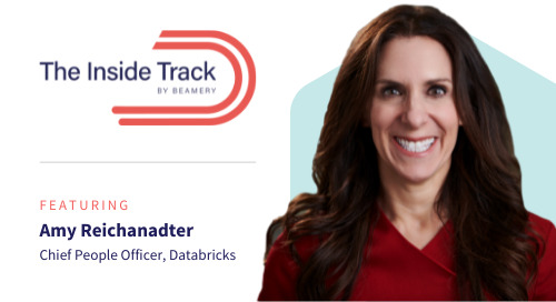 The Inside Track: Amy Reichanadter, Chief People Officer at Databricks