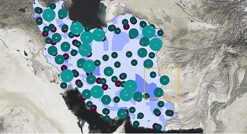 Human Landscape Map