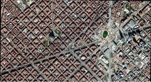 15 cm HD Map-ready (Ortho) | Barcelona, Spain