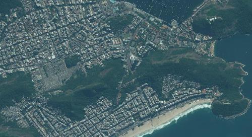 Map-Ready (Ortho), 30 cm | Rio de Janeiro, Brazil