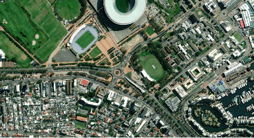 Dynamic Imagery Basemap | Cape Town