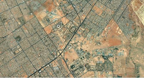 Vivid Standard Imagery Basemap | Riyadh