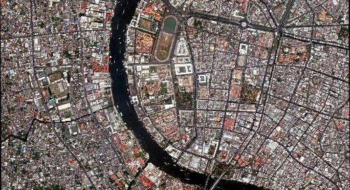Satellite Imagery Series | Bangkok, Thailand