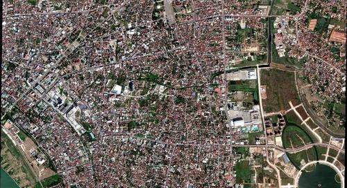 Satellite Imagery Series | Vientiane, Laos