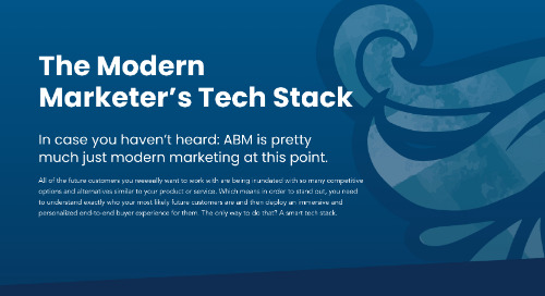 Modern Marketer Tech Stack