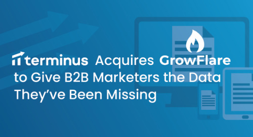 Terminus Acquires GrowFlare to Give B2B Marketers the Data They've Been Missing