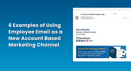 6 Examples of Using Employee Email as a New Account Based Marketing Channel