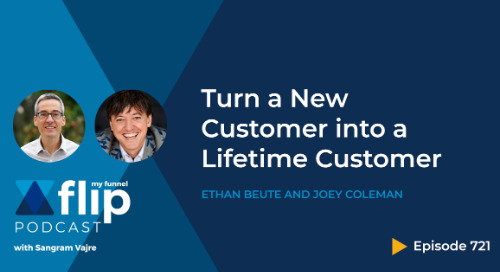Turn a New Customer into a Lifetime Customer