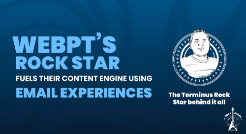 WebPT's Rock Star Fuels Their Content Engine Using Email Experiences