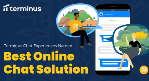 """Terminus Chat Experiences Named """"Best Online Chat Solution"""""""