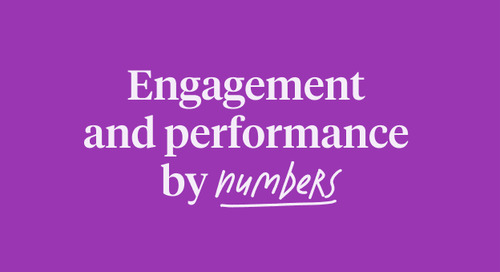 Engagement and Performance by the numbers