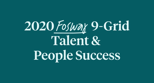 2020 Fosway 9 Grid Talent & People Success
