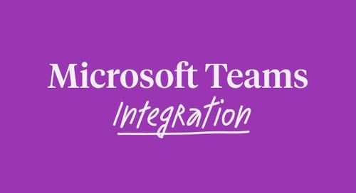 Microsoft Teams Integration - PLAT