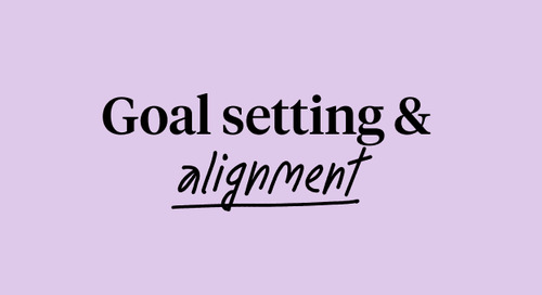 Goal Setting & Alignment - PERF