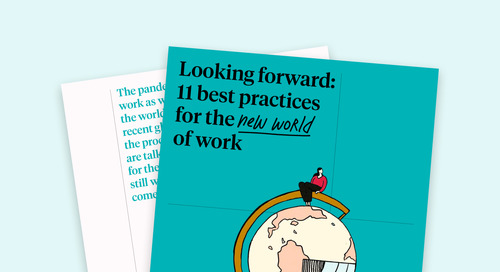 Looking forward: 11 best practices for the new world of work Ebook