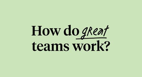 How do great teams work?