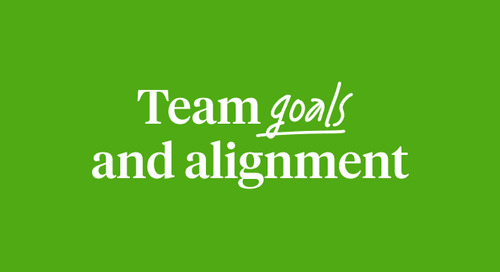Team goals and alignment workshop guide