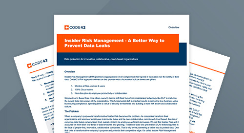 Insider Risk Management: A Better Way to Prevent Data Leaks