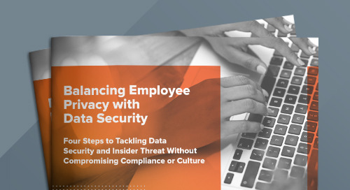 Balancing Employee Privacy With Data Security