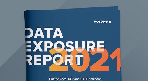 2021 Data Exposure Report, Volume II
