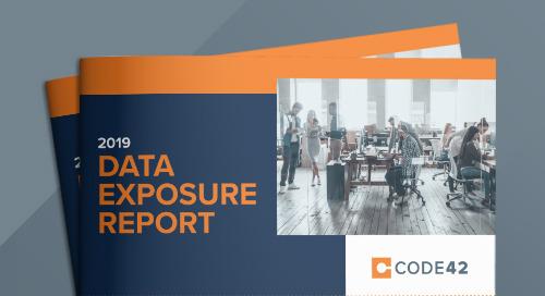 2019 Data Exposure Report