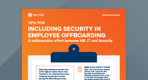 Tips For Including Security in Employee Offboarding