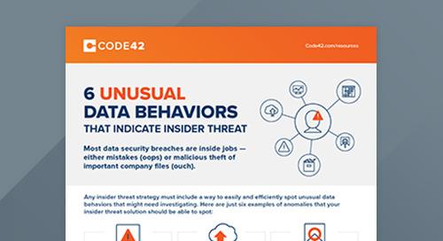 6 Unusual Data Behaviors That Indicate Insider Threat