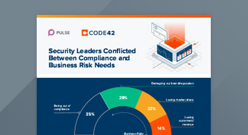 Pulse Survey: Security Leaders Divided Between Compliance and Business Risk Mindsets