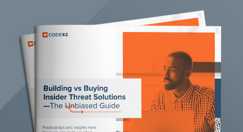 Building vs Buying Insider Threat Solutions: The Unbiased Guide