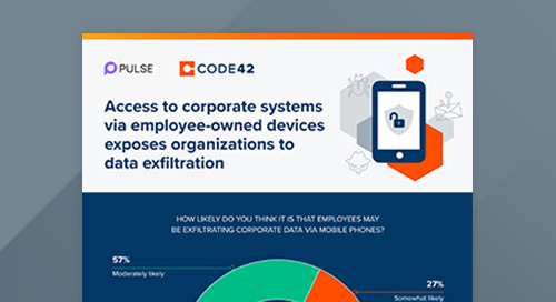 Access to Corporate Systems Via Employee-Owned Devices Exposes Organizations to Data Exfiltration