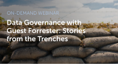 Data Governance with Guest Forrester — Stories from the Trenches