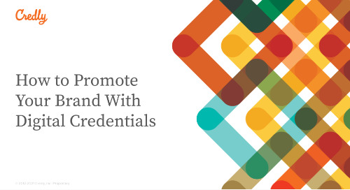 How to Promote Your Brand With Digital Credentials