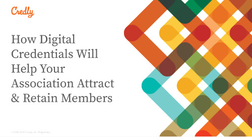 How Digital Credentials Will Help Your Association Attract & Retain Members