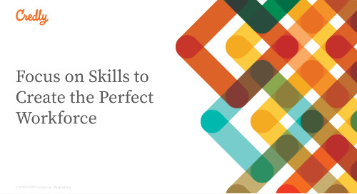 Focus on Skills to Create the Perfect Workforce