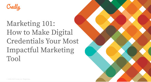 Marketing 101: How to Make Digital Credentials Your Most Impactful Marketing Tool