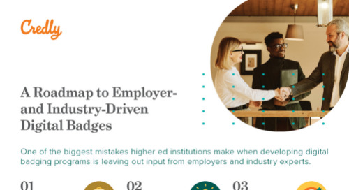 A Roadmap to Employer- and Industry-Driven Digital Badges Guide