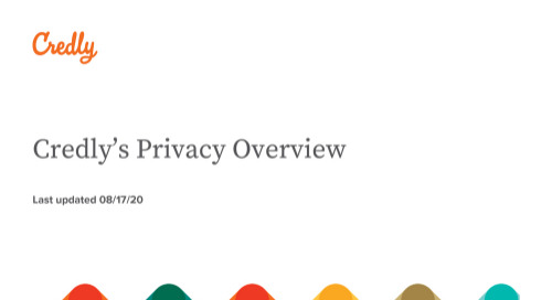 Credly Privacy Overview