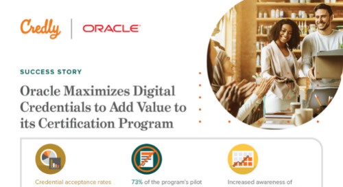 Oracle Maximizes Digital Credentials to Add Value to its Certification Program