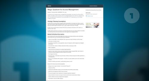 Gartner Names OneLogin a Leader in the 2020 Magic Quadrant for Access Management