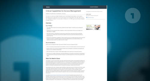 How do Key Access Management Platforms Score in the Critical Capabilities Report?