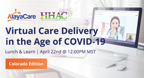 Virtual care delivery in the age of COVID-19 - Colorado edition