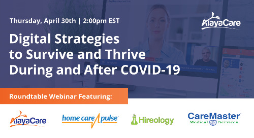 Digital strategies to survive and thrive during and after COVID-19