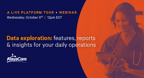 [Live Platform Tour] Data exploration: features, reports & insights for your daily operations