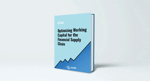 Optimizing Working Capital for the Financial Supply Chain