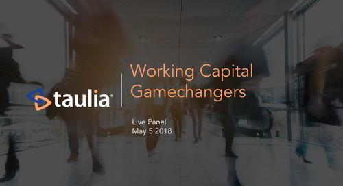 Webinar: Working Capital Gamechangers Panel