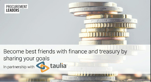 Webinar: Become best friends with finance and treasury by sharing your goals