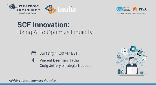 Webinar: SCF Innovation: Using AI to Optimize Liquidity