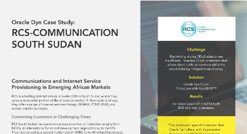 Case Study: RCS-Communication