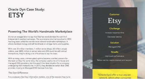 Etsy Case Study