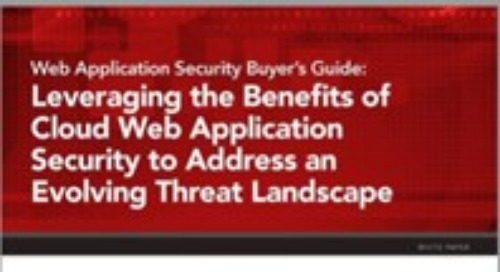 Web Application Security Buyer's Guide
